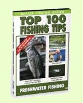 top 100 fishing tips DVD